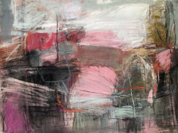 Hayes-Jeannette 'Cornish Pink' Pastel on paper 55x75 £2000 copy